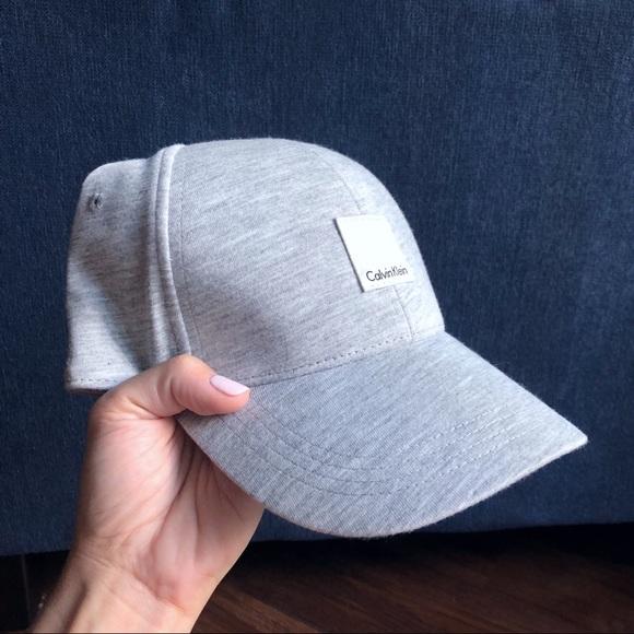 92a951b6 Calvin Klein Accessories   Nwot Light Gray Hat   Poshmark
